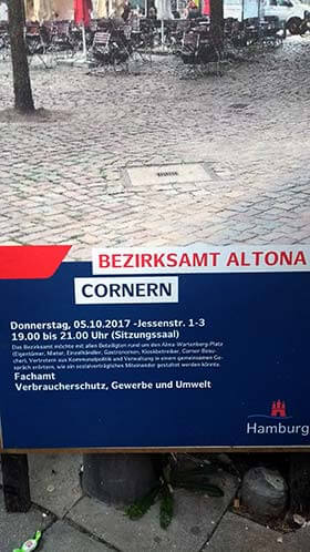Cornern am Alma-Wartenberg-Platz